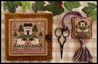 Wool Needlebook & Fob - Cross Stitch Pattern