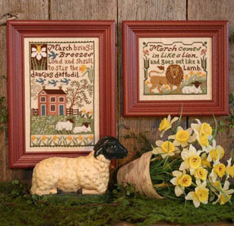 Daffodils - Cross Stitch Pattern