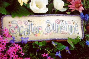 Scatter Sunshine - Cross Stitch Pattern
