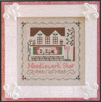 Needlework Shop, The - Cross Stitch Pattern