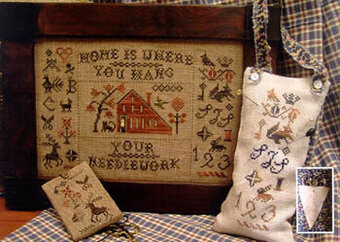 Home Is Where You Hang Your Needlework Cross Stitch Pattern