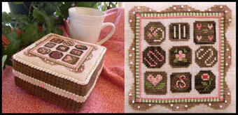 Chocolate Box - Cross Stitch Pattern