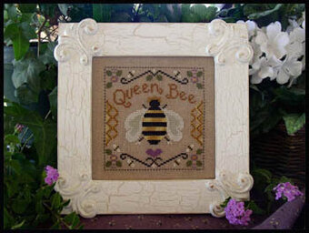 Queen Bee - Cross Stitch Pattern