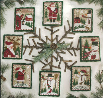 Santas & Snowmen - Cross Stitch Pattern