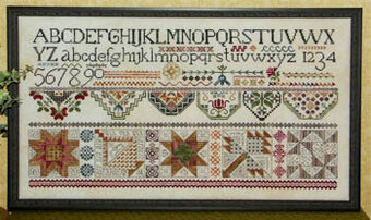 Quakers & Quilts - Cross Stitch Pattern