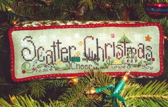 Scatter Christmas - Cross Stitch Pattern