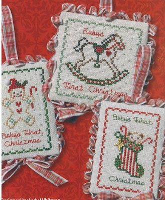 Baby's First Christmas - Cross Stitch Pattern