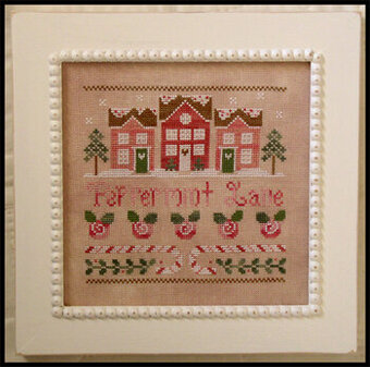 Peppermint Lane - Cross Stitch Pattern