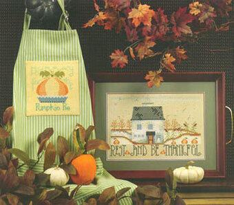 Rest & Be Thankful - Cross Stitch Pattern