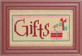Christmas Spirit Double Flip -Gifts/Wonder  - Cross Stitch