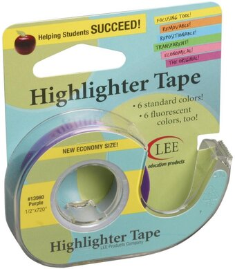Purple Crafter's Easy See Removable Craft Tape