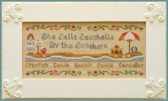 She Sells Seashells - Cross Stitch Pattern