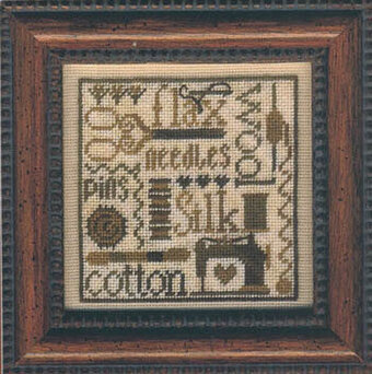 Random Threads - Cross Stitch Pattern