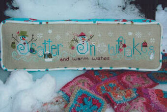 Scatter Snowflakes - Cross Stitch Pattern