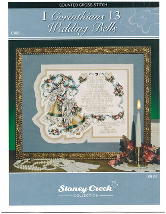 1 Corinthians 13 - Wedding Bells - Cross Stitch Pattern