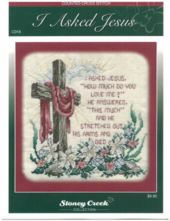 I Asked Jesus (Chartpack) - Cross Stitch Pattern