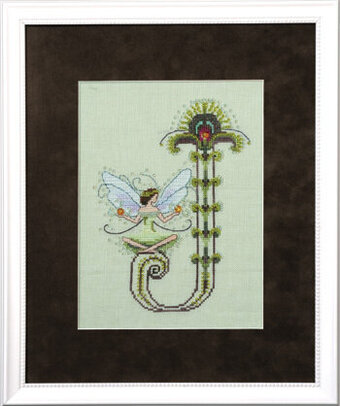 Letters From Nora - J - Cross Stitch Pattern