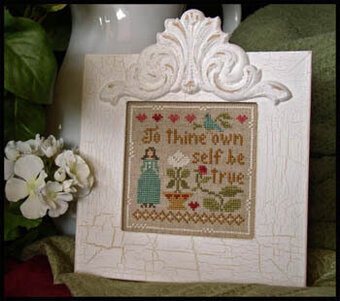 Be True - Cross Stitch Pattern