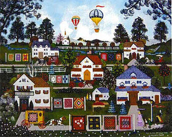 Quilts Of Cape Cod, The - Cross Stitch Pattern