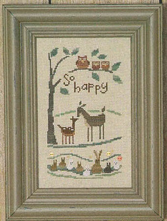 So Happy - Cross Stitch Pattern