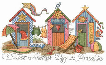 Another Day in Paradise - Cross Stitch Pattern