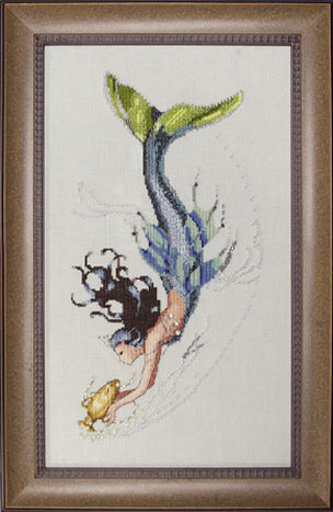 Mediterranean Mermaid - Mirabilia Cross Stitch Pattern