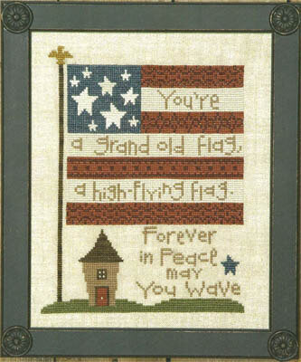 Uber Flag - Cross Stitch Pattern