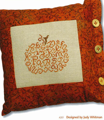 Alphabet Pumpkin - Cross Stitch Pattern