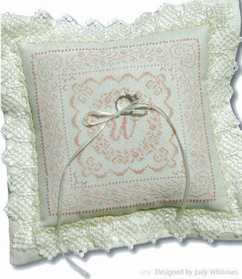 Wedding Pillow - Cross Stitch Pattern