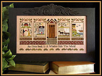 Library, The - Cross Stitch Pattern