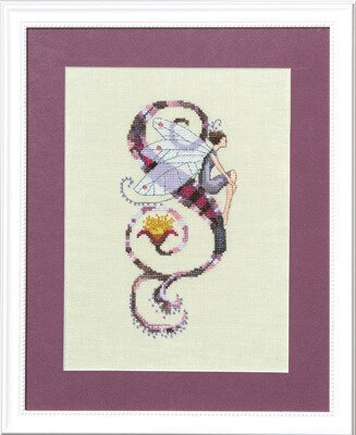 Letters From Nora - S - Cross Stitch Pattern