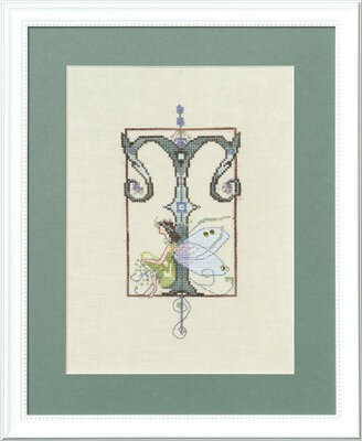 Letters From Nora - T - Cross Stitch Pattern