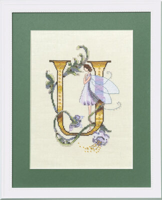 Letters From Nora - U - Cross Stitch Pattern