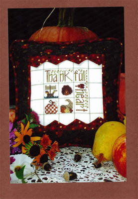 Thankful Heart - Cross Stitch Pattern