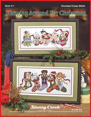 Hanging Around For Christmas - Cross Stitch Pattern
