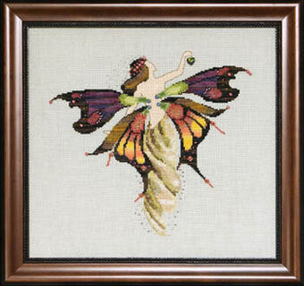 Day Nymph - Mirabilia Cross Stitch Pattern