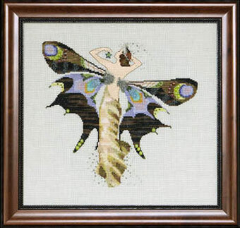 Night Nymph - Mirabilia Cross Stitch Pattern
