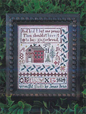 Jeanny Bean's Christmas Sampler - Cross Stitch Pattern
