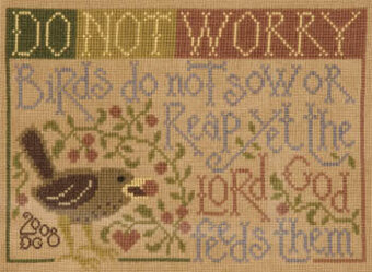 Eye on the Sparrow - Cross Stitch Pattern