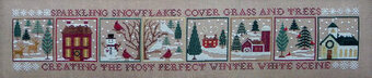 Winter White Woodland - Cross Stitch Pattern