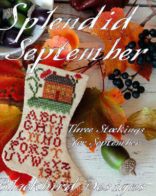 Splendid September - Cross Stitch Pattern