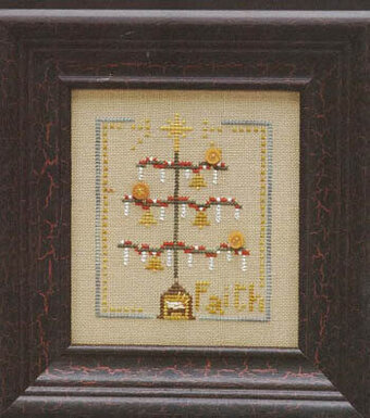 Christmas Tree: Faith - Cross Stitch Pattern