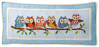 Outrageous Owls - Cross Stitch Pattern