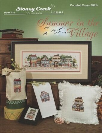Summer in the Village - Cross Stitch Pattern