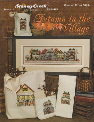 Autumn in the Village - Cross Stitch Pattern