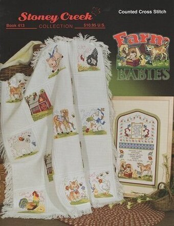 Farm Babies - Cross Stitch Pattern