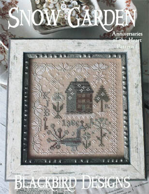 Snow Garden - Anniversaries of the Heart 1 - Cross Stitch