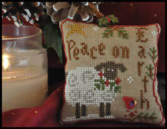 Ornament 5 - Winter Sheep - Cross Stitch Pattern
