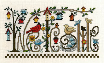 Every Bird Welcome - Cross Stitch Pattern