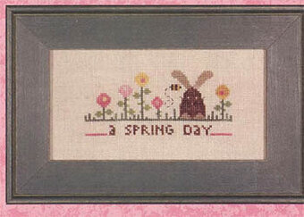 Prairie Schooler Signs Of Spring Cross Stitch Pattern